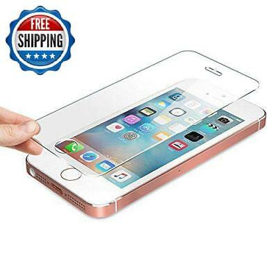 Tempered glass 0.2mm Screen Case Protection Round Edges Super Strong- iPhone 5SE