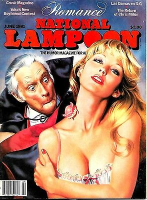 National Lampoon Magazine June 1981 Vfn Condition