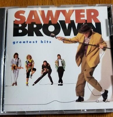 Sawyer Brown - Greatest Hits (CD, Sep-1990, Captiol/Curb) BMG