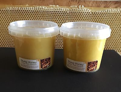 Tasmanian Unprocessed Cold Extracted Raw Honey - Christmas Bush - 2kg