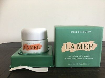 1 x La Mer Creme Soft Moisurizing Cream 30ml, used very slightly in original box
