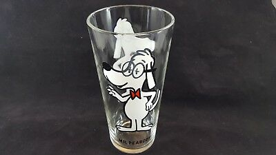 Warner Bros. Pepsi Collectible Drinking Glass Vintage 1973 - Mr. Peabody