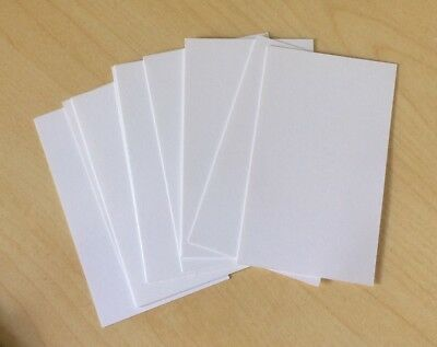 20x Blank Business Cards 90x55mm