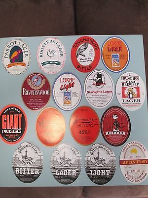 37 Assorted Geelong Brewery Beer Labels (A407)