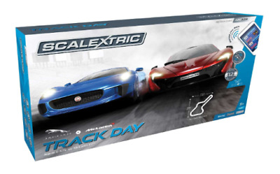 Scalextric Track Day Slot Car Set
