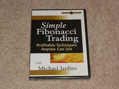 Michael Jardine Simple Fibonacci Trading DVD stock market option warrior traders