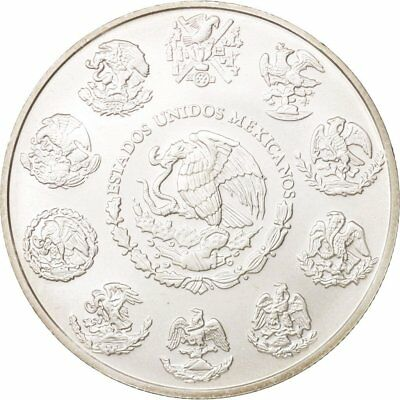 [#78553] Mexico, Onza, Troy Ounce of Silver, 2011, Mexico City, MS(64), Silver