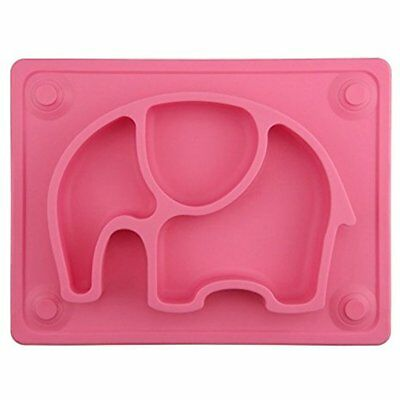 """Mini Place Mats Baby Placemat, 10""""x7.7""""x1"""" Silicone Child Feeding Suction Cup"""