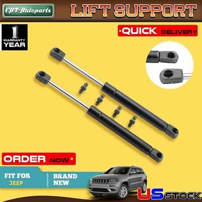 2X REAR GLASS SUPPORT DAMPERS SET JEEP GRAND CHEROKEE WJ 1999-2003