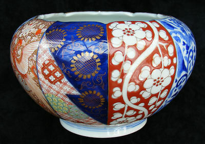 "Antique Japanese Imari Bowl by Fukagawa - C1910 - fantastic condition- 7"" across"