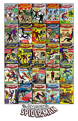 The Amazing Spiderman  #1-#25 11x17in/28x43cm Poster Comic Book Limited Edition