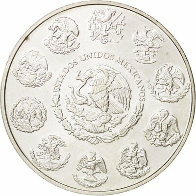 [#78552] Mexico, Onza, Troy Ounce of Silver, 2010, Mexico City, MS(64), Silver