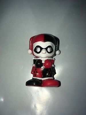 NEW OOSHIES DC Comics Red/Black Harley Quinn Figure - Free Ship