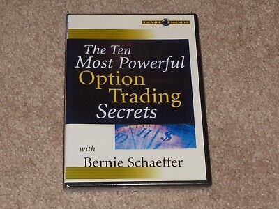 Bernie Schaeffer The Ten Most Powerful Option Trading Secrets DVD simpler online