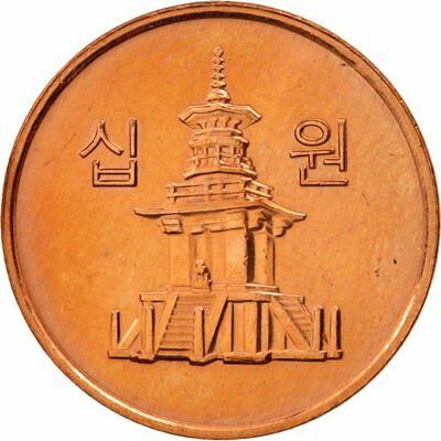 [#79862] KOREA-SOUTH, 10 Won,2008,KOMSCO,MS(60-62), Copper Clad Alum, KM:103