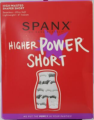 Spanx Higher Power High Waisted Shaping Short A266358 NOT IN PACKAGE