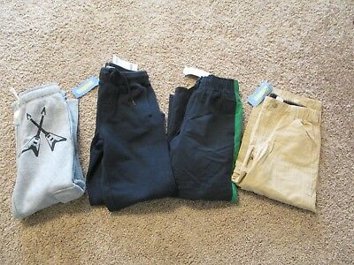 Gymboree U Pick Boys Navy Sweat Athletic Or Khaki Zip Off Pants 6 Or  7 Nwt