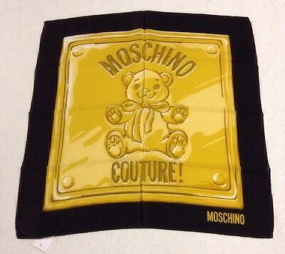 Pochette in seta MOSCHINO COUTURE.