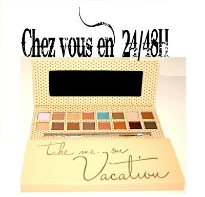 Palette de maquillage Kylie jenner  take me on vacation / KYSHADOW
