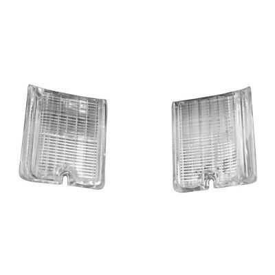 66 El Camino Back Up Lamp / Light Lens - Pair