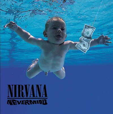 NIRVANA : NEVERMIND   180g LP Vinyl + download code New & Sealed