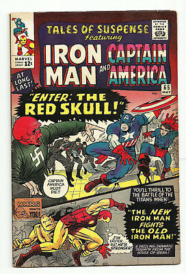 Tales of Suspense #65  First Silver Age Red Skull   High Grade
