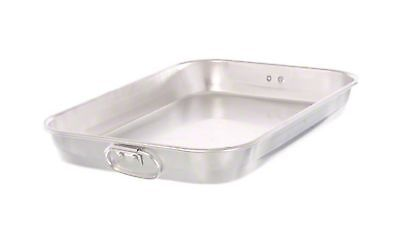 "Update International (ABP-1218) 18"" x 12"" Aluminum Bake Pan 1"