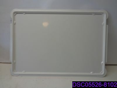 "Molded Fiberglass Tray Company Dough Proofing Box Lid 26"" x 18"" 887008-5269"