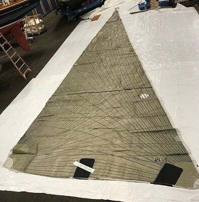 Tape Drive Headsail by UK Sails in Good Condition 50.5' Luff