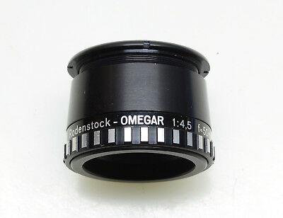 Rodenstock Omegar 50mm f4.5 Enlarging Lens, With Retaining Ring, Made in Germany