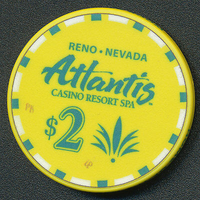 Atlantis Casino Reno $2 Chip 2013