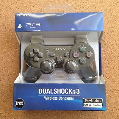Charcoal Black Sony PS3 DualShock 3 PlayStation 3 Wireless Controller