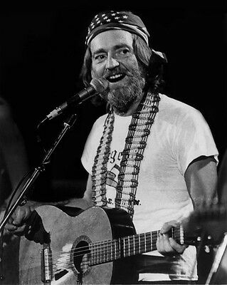 1980 American Singer WILLIE NELSON Glossy 8x10 Photo Country Music Print Poster