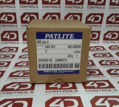 Patlite NE-24-C LED Clear Beacon - New Surplus Open
