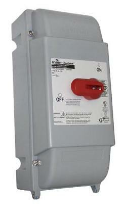 Leviton DS100-AX 100 Amp, 600 Volt, Non-Fused Safety Disconnect Switch,