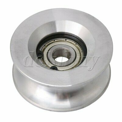 10x60x25mm Bearing Guide Roller Pulley Rail Idler Wheel 10mm Groove
