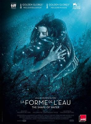 LA FORME DE L'EAU - THE SHAPE OF WATER - Affiche  40X60 - 120x160 Movie Poster
