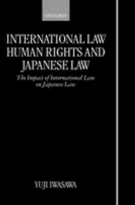 NEW International Law, Human Rights, And Japanese Law by... BOOK (Hardback)