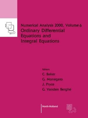 NEW Ordinary Differential Equations And Integral Equations... BOOK (Paperback)