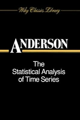 NEW The Statistical Analysis Of Time Series by T. W. Anderson BOOK (Paperback)