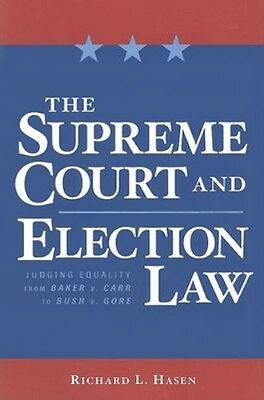 NEW The Supreme Court And Election Law by Richard L Hasen BOOK (Paperback)