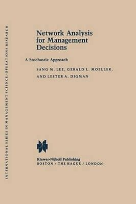 NEW Network Analysis For Management Decisions by Sang M. Lee BOOK (Hardback)