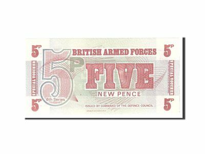 [#114554] Great Britain, 5 New Pence, 1972, KM:M44a, Undated, UNC(65-70)