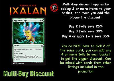 MTG Rivals of Ixalan RIX Choose your Common Foil - New - Buy 2 or more Save 25%