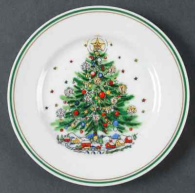 Salem CHRISTMAS EVE (PORCELAIN) Tree Bread & Butter Plate 850445