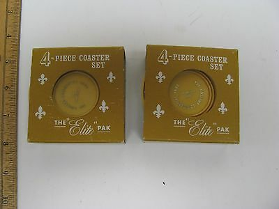 Citizens Commercial Bank 100Th Anniversary Coaster Set Elite Pack Advertising