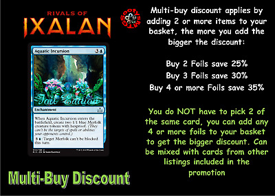 MTG Rivals of Ixalan RIX Choose your Uncommon Foil - New Buy 2 Save 25%