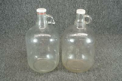 Set Of Two Vintage One Gallon Glass Jugs Ball H9