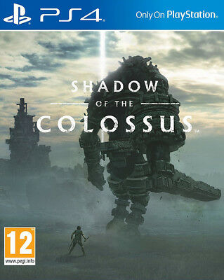 Shadow of the Colossus (PS4)  BRAND NEW AND SEALED - IN STOCK - QUICK DISPATCH