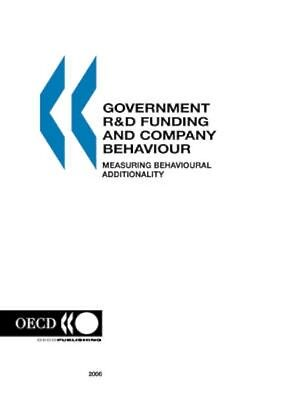 NEW Government R&d Funding And Company Behaviour, Measuring... BOOK (Paperback)